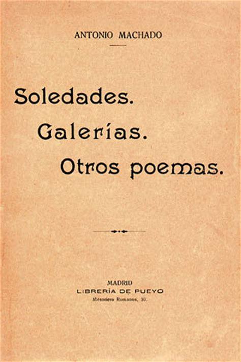 libro soledades galerias otros poemas soledades galer 237 as otros poemas