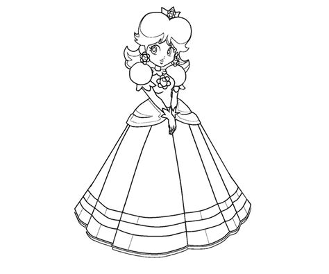 coloring pages of daisy from mario mario and daisy coloring pages az coloring pages