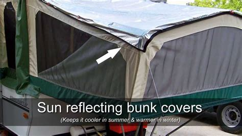 Pop Up Cer Mattress Covers by Pop Up Cer Bed Covers Best Rv Review