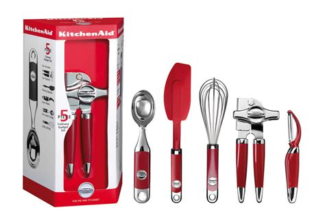 Red Culinary Gadget Set (KM412ER) KitchenAid   H. Duve