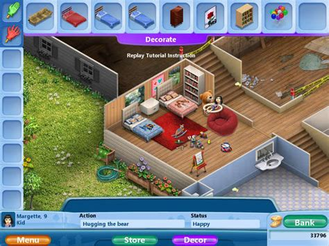 house design computer games virtual families 2 our dream house gamehouse