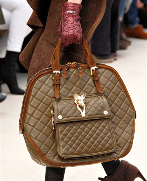 Burberry Quilted Leather Satchel by Burberry Quilted Leather Fox Satchel