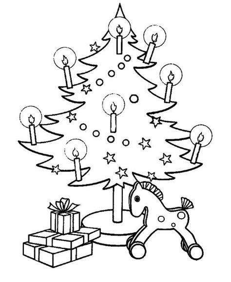 christmas tree with candles coloring page christmas tree with candles coloring pages christian