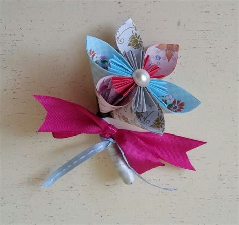 Origami Boutonniere - best 25 alternative buttonholes ideas on