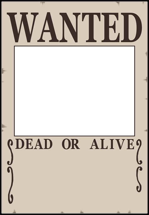 12 Blank Wanted Posters Free Printable Word Pdf Psd Wanted Poster Template
