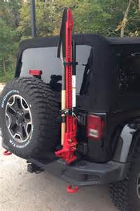 hi lift mount for maximus 3 modular tire carrier