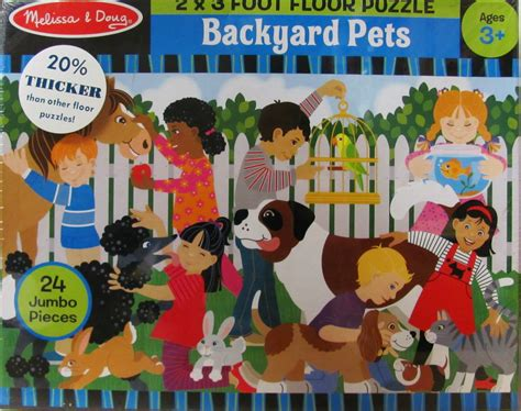 backyard pets backyard pets floor puzzle down on the farm