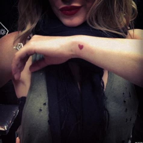hilary duff tattoos hilary duff on new all is of