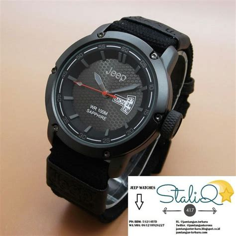 Jam Tangan Jeep Black Leather pin by jam tangan terbaru on jeep watches jeep watches