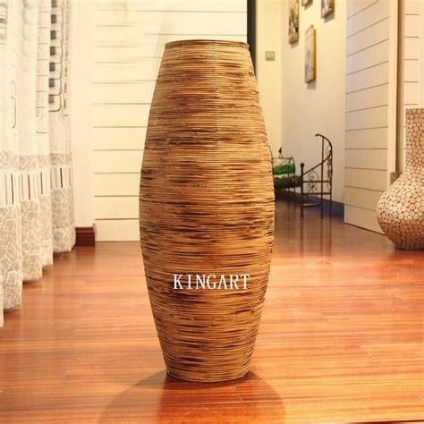 christmas retro bamboo vase large floor vase big antique
