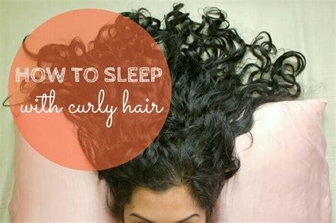sleeping on short hair 4 ways to sleep with curly hair curlsandbeautydiary