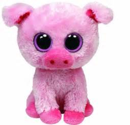 ty beanie boos corky pig fuhzee