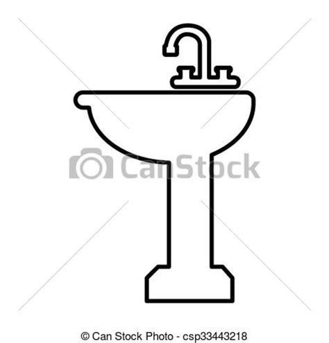 how to draw a bathroom sink image gallery sink drawing