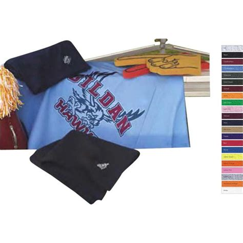 Gildan Piknik the 25 best imprinted blankets and throws custom logo