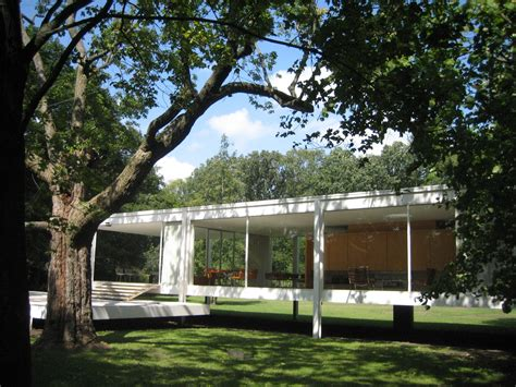 Farnsworth House by The Farnsworth House And Innovation Justkul