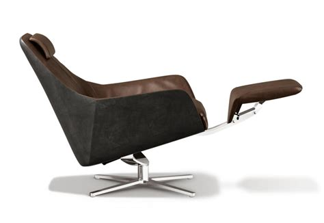 smooth retro style armchair from de sede studio przedmiotu