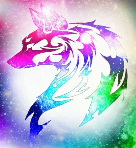 Wolfe Background Check Rainbow Wolf Wallpaper Www Imgkid The Image Kid