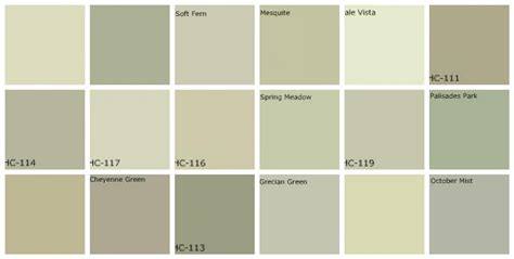 best green paint colors gray green paint designers favorite colors top row