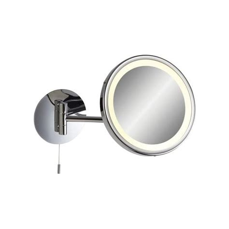 illuminated magnifying mirrors for bathrooms firstlight 6121 splash low energy bathroom illuminated
