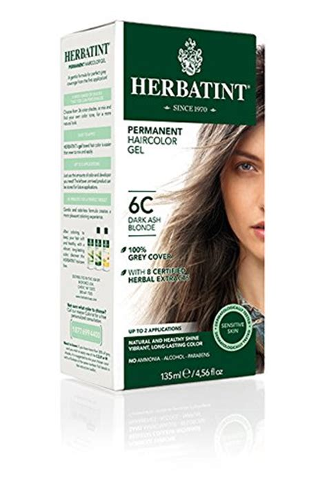 free shipping herbatint permanent herbal hair color gel 2n brown 4 56 ounce 11street