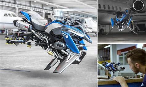 Motorrad Online Email by Bmw Unveils A Flying Motorbike Concept Based On Lego