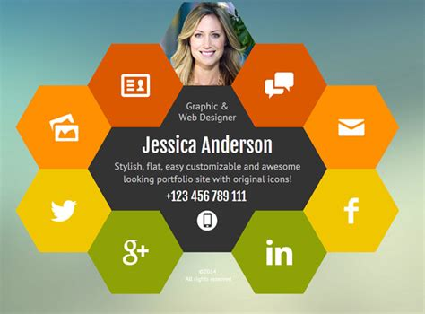 personal portfolio template 30 best resume cv html templates 2016 designmaz