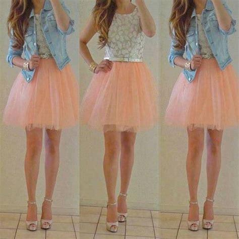 Paneled Denim Flare Mini Skirt the gretta tulle skirt alexandra grecco