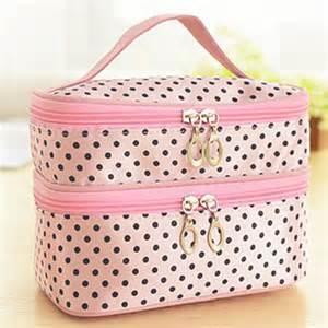 women makeup bags double layer travel organizer bag