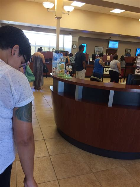 Forum Credit Union Employees the line is out the door today and there is no parking