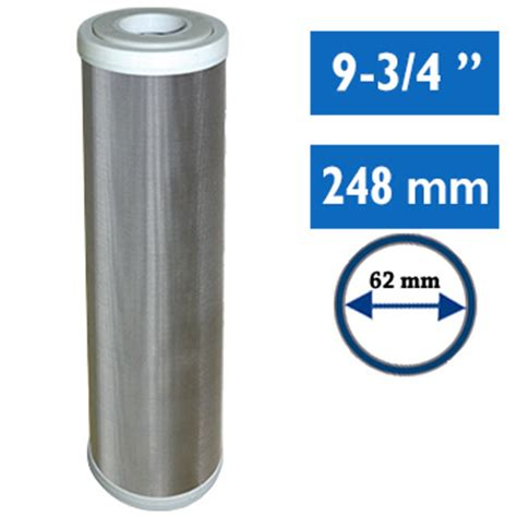 Filtration Eau De Pluie 445 by Cartouche Inox 30 Microns 9 3 4 Pouces Lavable Pr 233