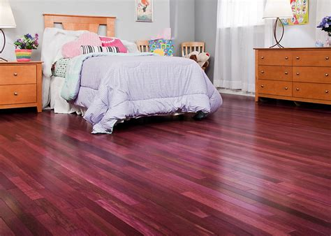 purpleheart hardwood the flooring blog the couture floor company