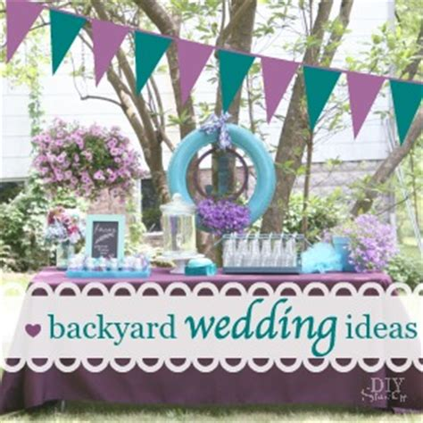 diy backyard wedding ideas backyard wedding ideas diy show diy decorating