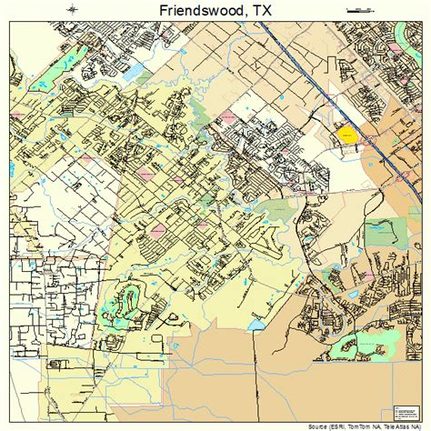 friendswood texas map friendswood texas map 4827648