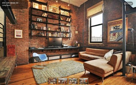 industrial style möbel an industrial style loft for 925 000 in park slope