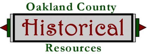 Oakland County Mi Property Tax Records Oakland Michigan American Local History Network