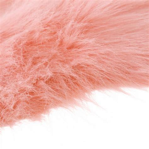 alfombras rosa alfombra de pelo rosa de microfibra moderna para