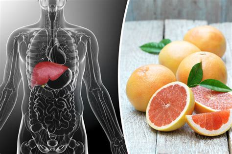 Grapefruit Liver Detox by Top15 Superfoods To Detox And Cleanse Your Liver Daily