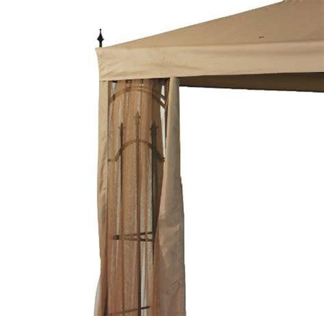 arrow gazebo replacement canopy  netting set garden winds