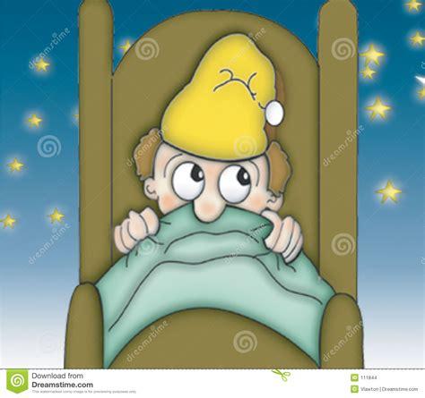 andare a letto ora di andare a letto sotto le stelle illustrazione di