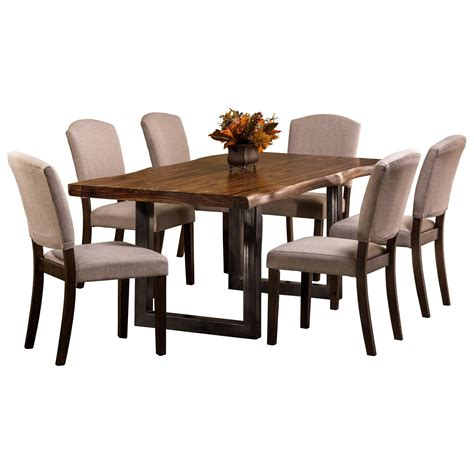 Emerson Dining Table Hillsdale Emerson 5674dt Sheesham Wood Rectangular Dining Table Dunk Bright