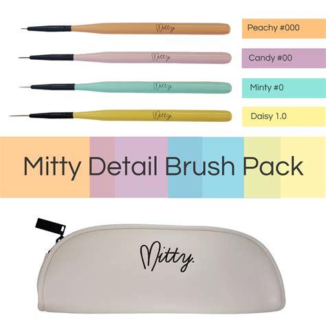 Mitty Nail Kit mitty detail nail brush kit nail uk