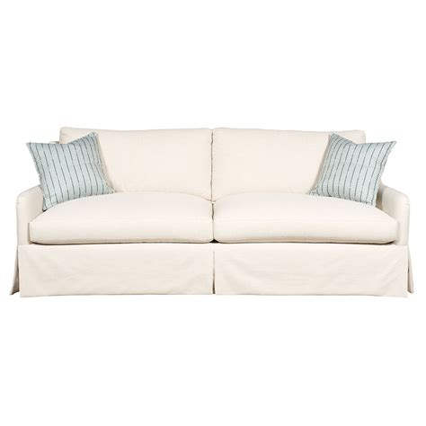 carey sofa with skirt luxe home company