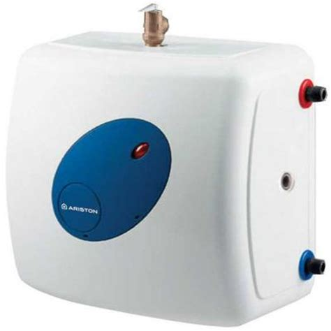 Small Water Heaters Electric Home Depot Ariston 7 Gal 6 Year 1500 Watt 120 Volt Point Of Use Mini