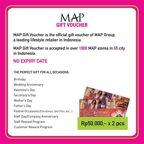 Voucher Map 100 By Ecoshops voucher map gift voucher senilai rp 100 000 2 x rp 50