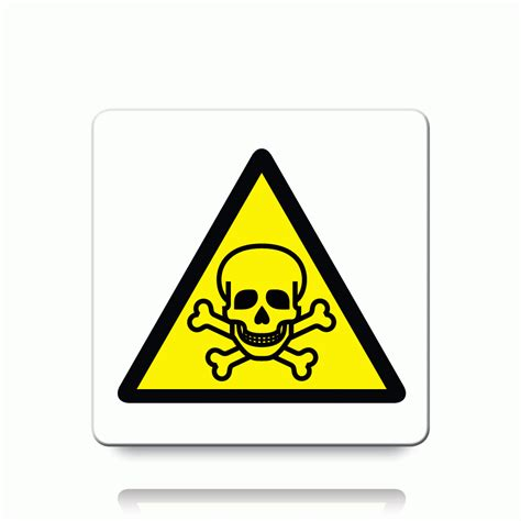 Etiketten Zeichen by Buy Toxic Symbol Labels Danger Warning Stickers