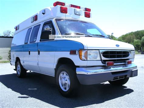 ford econoline e350 1997 emergency fire trucks 1997 ford econoline e350