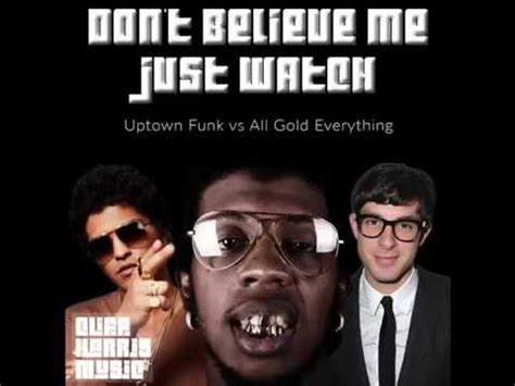 bruno mars dont believe me just watch cliff harris don t believe me just watch trinidad james