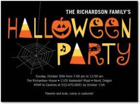 invitation ideas for halloween party spooky soiree halloween party invitations in black