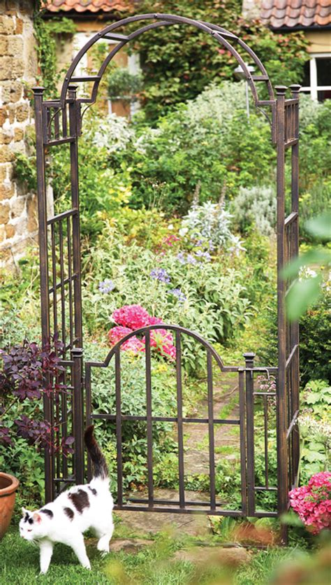 Garden Arch With Gate Uk Uk Garden Fencing Mackintosh Garden Arch With Gate