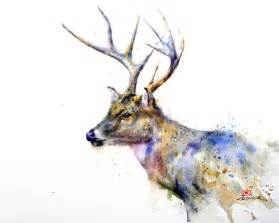 water color animals dean crouser s animals paintings trendland